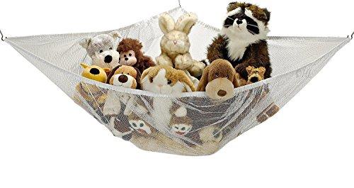 Stuffed Animals Hammock Powkoo Jumbo Toy Hammock Net Organizer Stuffed Animals