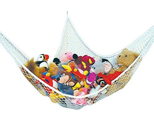 eshion Home Multipurpose Jumbo Toy Hammock Net Organize Stuffed Animals Toys Stylish Pet Net