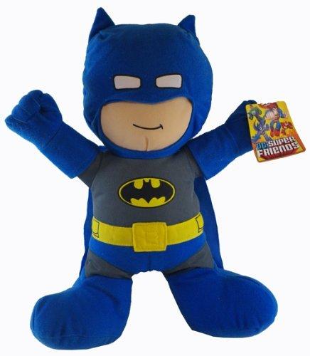1 X BatMan Plush Toy - DC Super Friends Doll 9 Inch by DC Comics