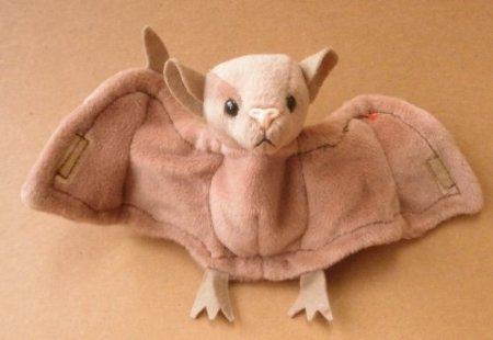 5Star-TD TY Beanie Babies Batty The Bat Plush Toy Stuffed Animal