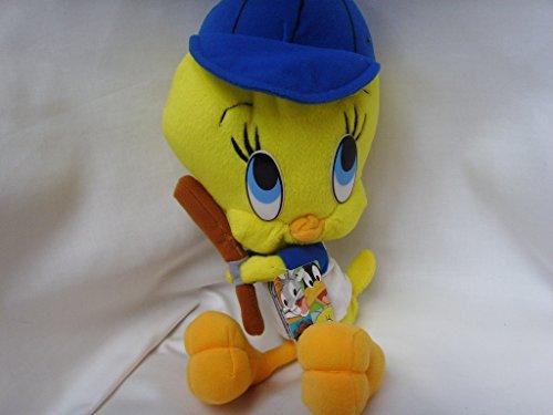 Tweety Bird Looney Tunes Large 15 Baseball Bat Plush Toy Collectible