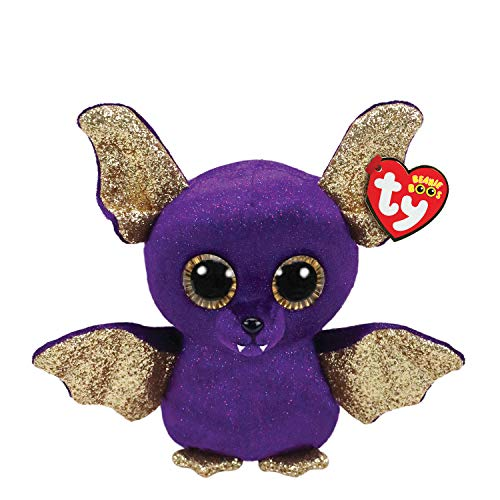 Ty Beanies Claires Girls Boo Small Count The Bat Plush Toy