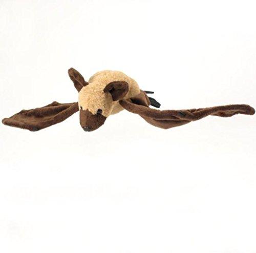 WISHPETS 9 Brown Bat Plush Toy