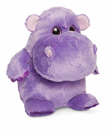 Aurora World Hunk O Love Hippo Plush Toy Purple by Aurora