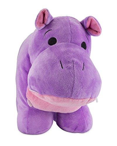 Sasha the Hippo Plush Toy Stuffed Animal Pillow Purple