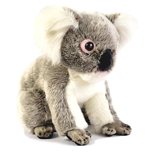Bocchetta Plush Australian Koala Stuffed Plush Toy Sitting - Betsy Medium Grey