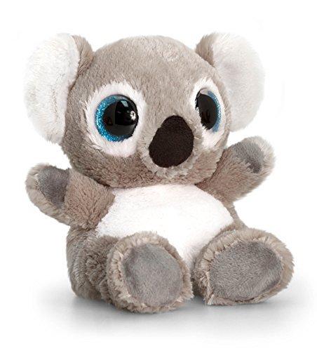 Keel Toys SF0441 15 cm Animotsu Koala Plush Toy by Keel Toys
