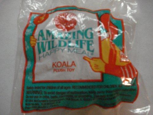McDonalds 1994 Amazing Wildlife 3 Koala Plush Toy
