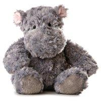 Gray Stuffed Hippo - Set Of 2