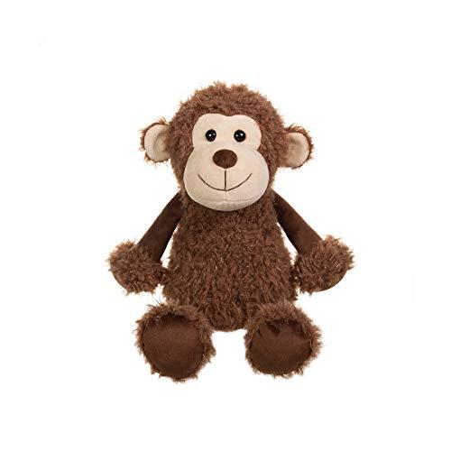 Apricot Lamb Toys Plush Monkey Stuffed Animal Soft Cuddly Perfect for Girls Boys Plush Monkey 10 Inches