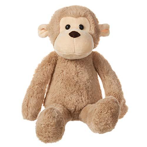 charaHOME Monkey Plush Stuffed Animal Toy Plush Toy Light Brown 10 Inches
