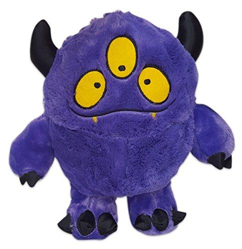 Cuddly Soft 16 inch Stuffed Purple Monster PlushWe stuff emyou love em