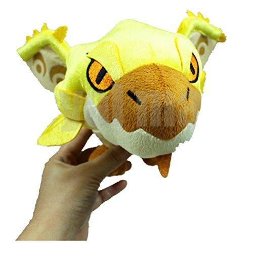 Monster Hunter Gold Rioreia  Rathian Plush Stuffed Monster Doll 85-Inch Yellow by Gem