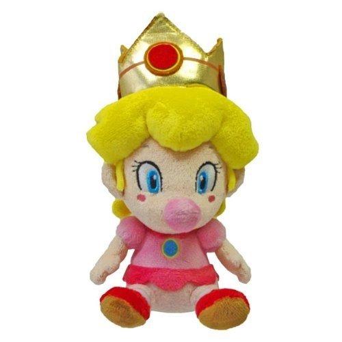 Little Buddy Super Mario Plush Baby Peach 5-Inch