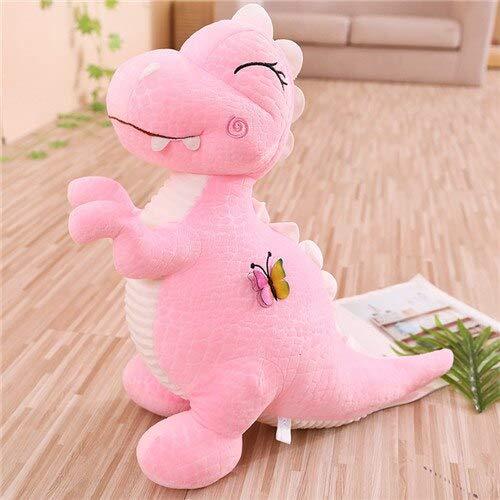 RiceStore 1pcs 30cm Cartoon Cute Dinosaur Plush Toys Soft Animal Stuffed Pink