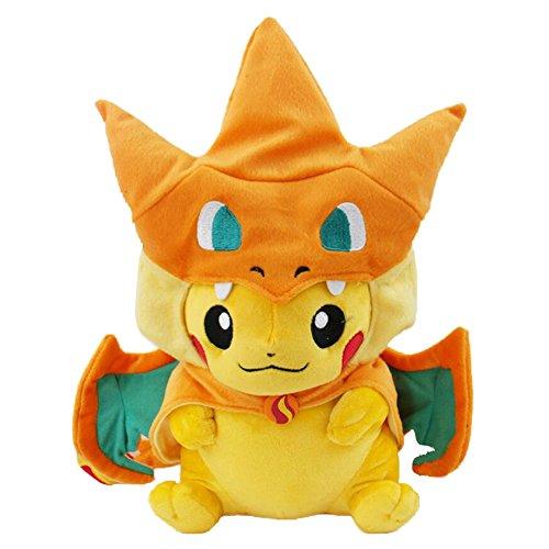 Pokemon Pikazard Pikachu Stuffed Animal Doll Plush Toys 10