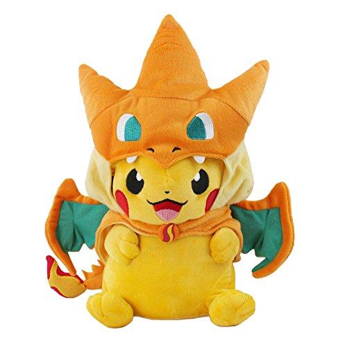 Pokemon Plush Pikazard Pikachu Stuffed Animal Doll Toys 10