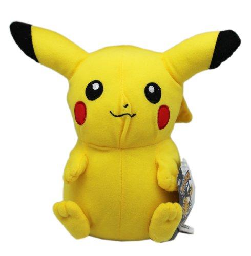 Small Pikachu Plush Toy - Pokemon Round Plush