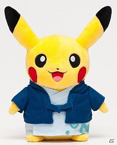 Yukata Pikachu Plush Toy Pokemon store Oita limited
