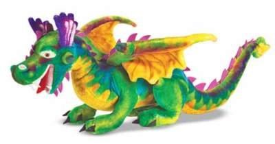 Melissa and Doug Plush Animal Stuffed Dragon - New IGN