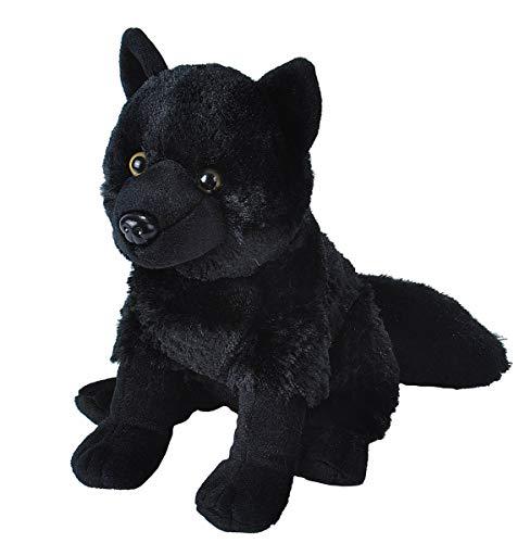 Wild Republic Wolf Plush Stuffed Animal Plush Toy Kids Gifts Black 12