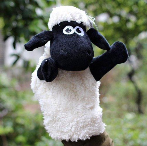 Goldleaf Cute Cartoon Animal Hand Plush Puppet Toy - Shaun The Sheep