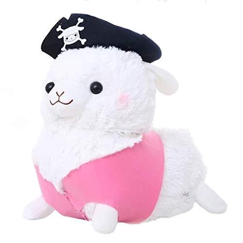 RiceStore 1pcs 30cm Lovely Pirate Sheep Plush Toy Doll Birthday Gift