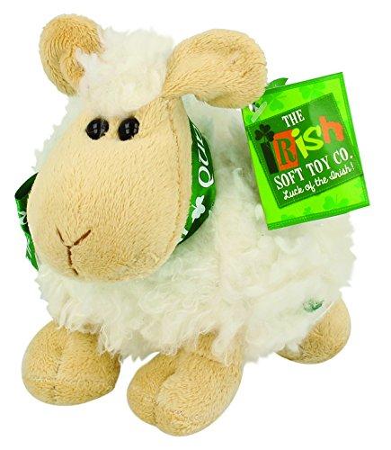 Shamrock Gift Co Small Irish Sheep Plush Toy - Cream Color