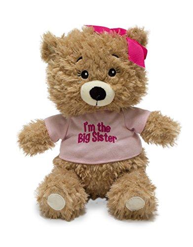 Cuddle Barn Animated Plush Toy Big Sister Bear Recites Encouragements