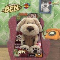Talking Friends Talking Ben Animated Plush Toy with Talkback by Talking Friends