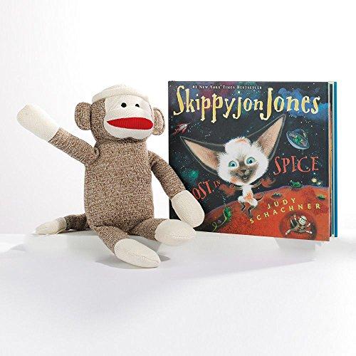 Kohls Skippyjon Jones Sock Monkey Plush