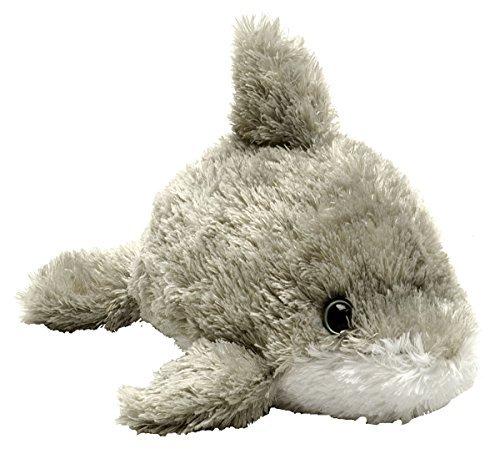 Wild Republic 18 cm Hugems Dolphin Plush Toy Grey by Wild Republic
