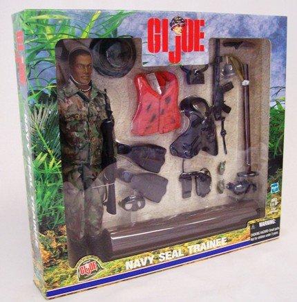 GI Joe NAVY SEAL TRAINEE 12 Action Figure 2000 Hasbro