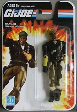 GI Joe Real American Hero 3 34 Sgt Stalker Ranger Action Figure  Toy by Hasbro