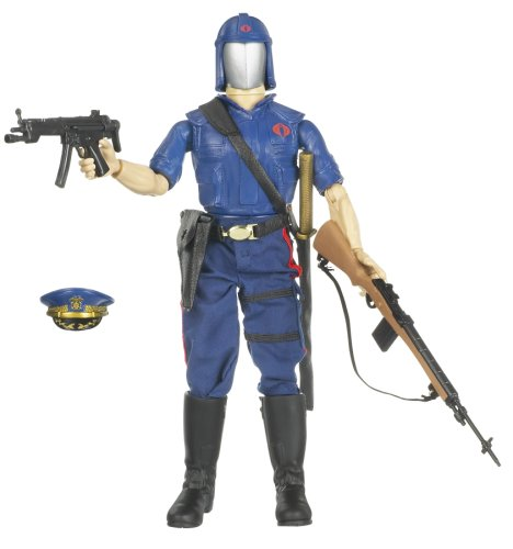 Hasbro GI Joe 12 INCH Military Figure - Cobra Commander