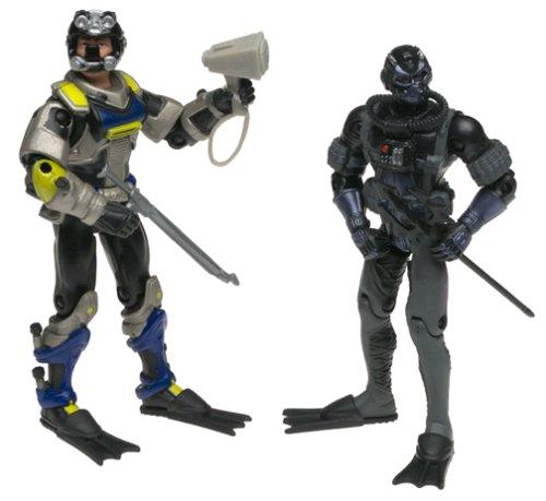 Hasbro GI Joe Vs Cobra Wet Suit Vs Cobra Moray Action Figure Set