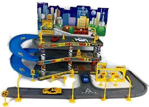 Kids Parking Garage PlaySet