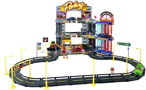Track N Town 70 Pc Garage Playset