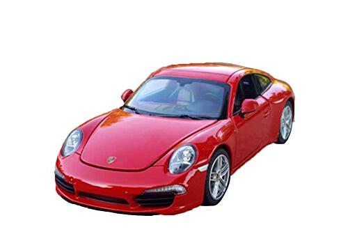 Model Car Sport Scale 124 Porsche 911 Carrera S Alloy Sports Car Model Boys Toys Display Red