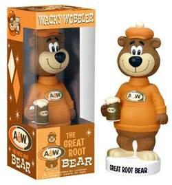 A&W the Great Root Bear Wacky Wobbler Bobble Head