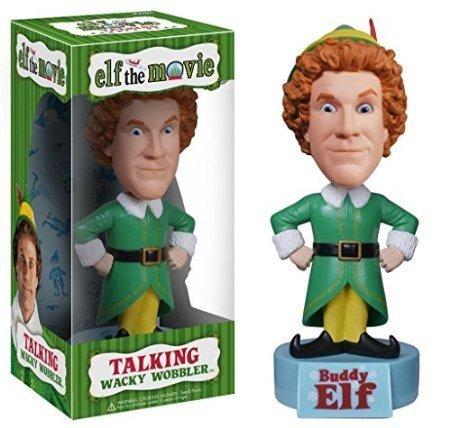 Elf The Movie Funko Buddy Talking Wacky Wobbler Bobble-Head