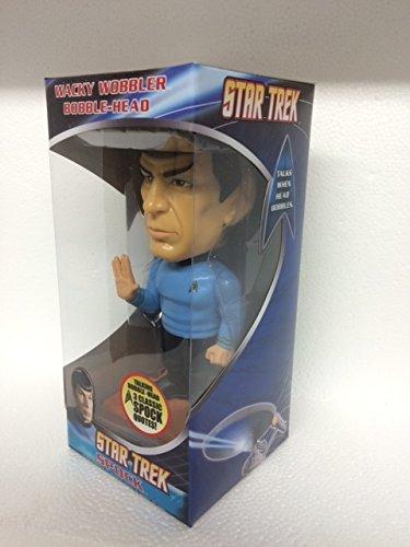 Mr Spock - Star Trek The Original Series - Talking Wacky Wobbler Bobble-Head