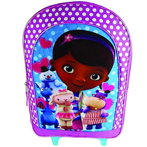 Disney Doc Mc Stuffins Large Roller Backpack - BluePink