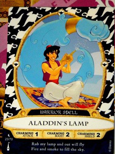 Disney Sorcerers Mask of the Magic Kingdom Sotmk Game Wdw Walt Disney World Exclusive Game Moon Card  23 Aladdins Lamp Genie Map Mickey Stickers