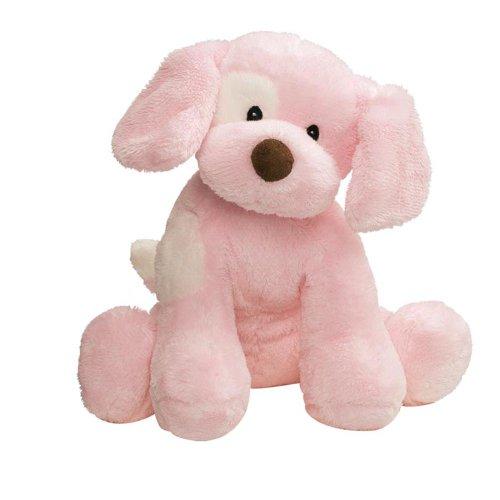 GUND Spunky Dog Baby Sound Toy Stuffed Animal