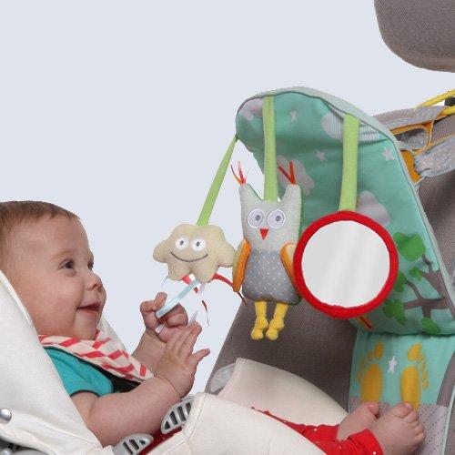 Taf Toys Play and Kick Car Toy Travel Activity Center Travel Toys Travel Baby Toys