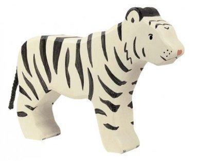 Holztiger Siberian Tiger Standing Toy Figure by Holztiger