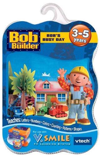 Vtech V Smile GAME BOB THE BUILDER - BOBS BUSY DAY For SMILE TV LEARNING SYSTEM