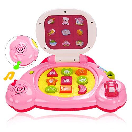 Arshiner Baby Touch Learning Machine Laptop ToysIntelligent Learning Laptop For Kids