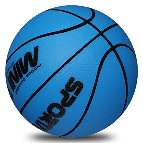 Kids Replacement Basketball StylifeIndoor Mini Hoop Ball - 5 inch diameter Blue